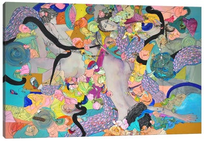 Karma Canvas Art Print