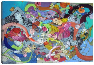 Double Dream Canvas Print #LLE113