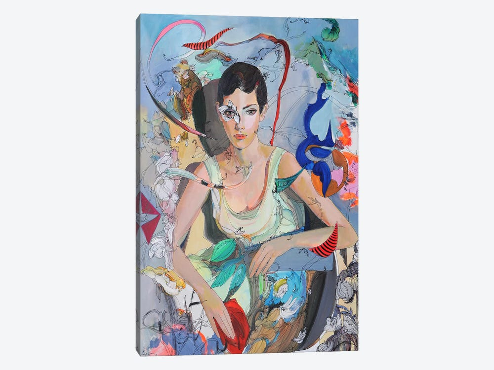 Patricia by Larisa Ilieva 1-piece Canvas Print