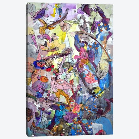 Golden Mist Canvas Print #LLE117} by Larisa Ilieva Canvas Artwork