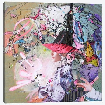 Rendez-voues Canvas Print #LLE124} by Larisa Ilieva Art Print