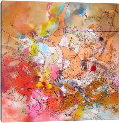 Sunday, Sunday Canvas Print #LLE131