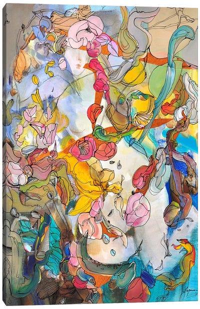 Traces Canvas Art Print