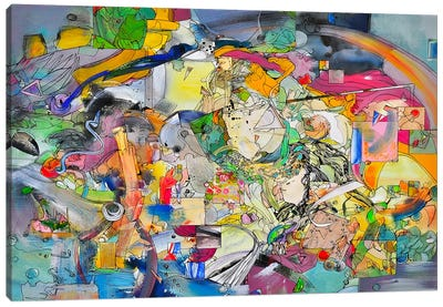 Sunrise and Paulo Ucello Canvas Art Print