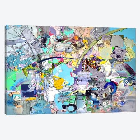 Blue Desire Canvas Print #LLE28} by Larisa Ilieva Canvas Art Print