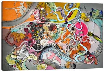 Formule #1 Canvas Art Print