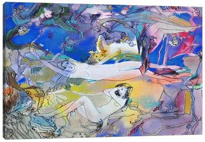 The River Rhein Daughters Canvas Art Print