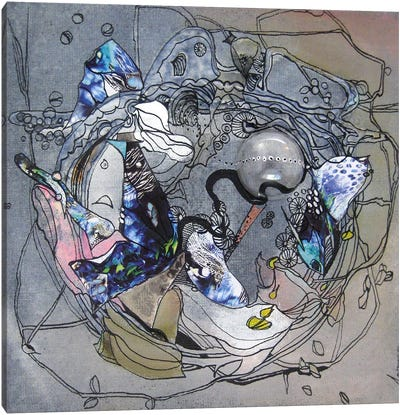 Night Butterfly Canvas Art Print