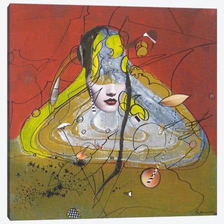 Desert Water Canvas Print #LLE68} by Larisa Ilieva Canvas Art Print