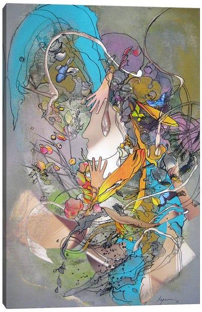 Rain Drops Canvas Print #LLE69
