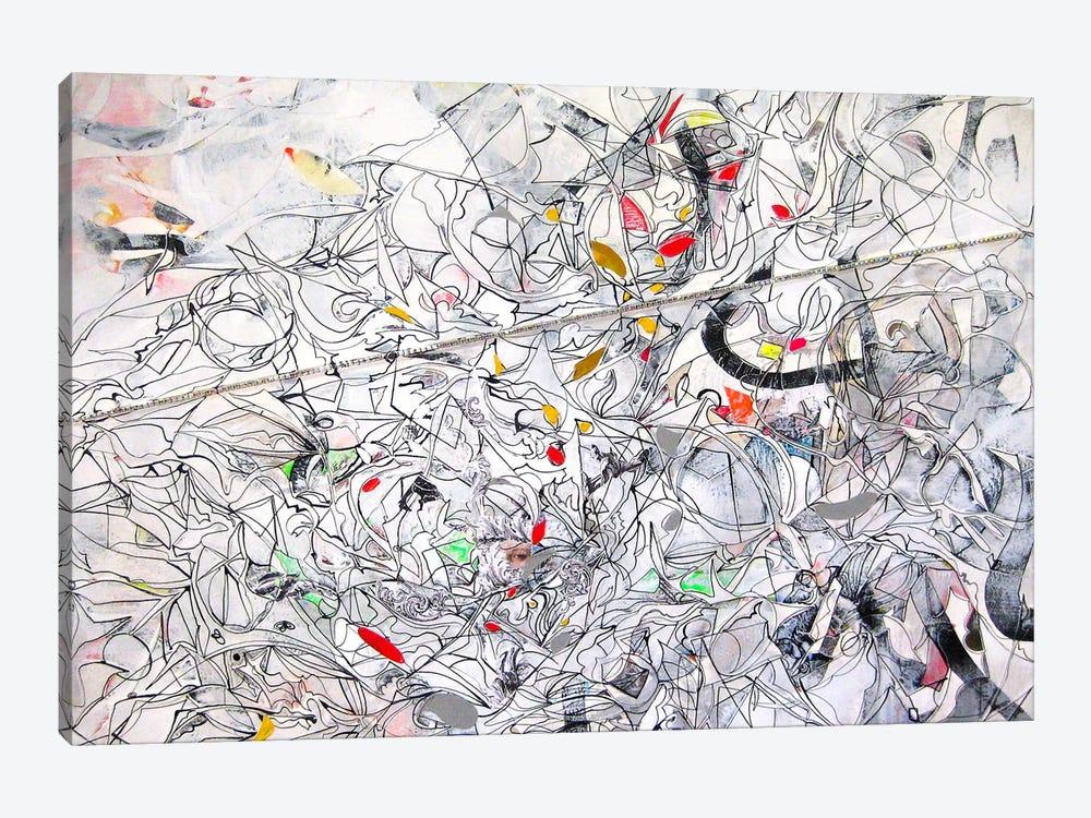 150 Elements by Larisa Ilieva 1-piece Canvas Artwork