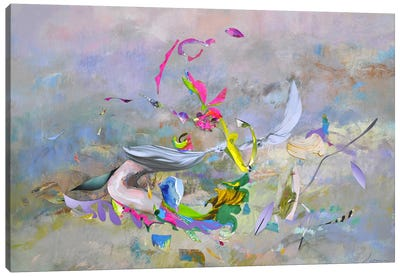 Abstract Morning Canvas Art Print