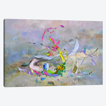 Abstract Morning Canvas Print #LLE81} by Larisa Ilieva Canvas Print