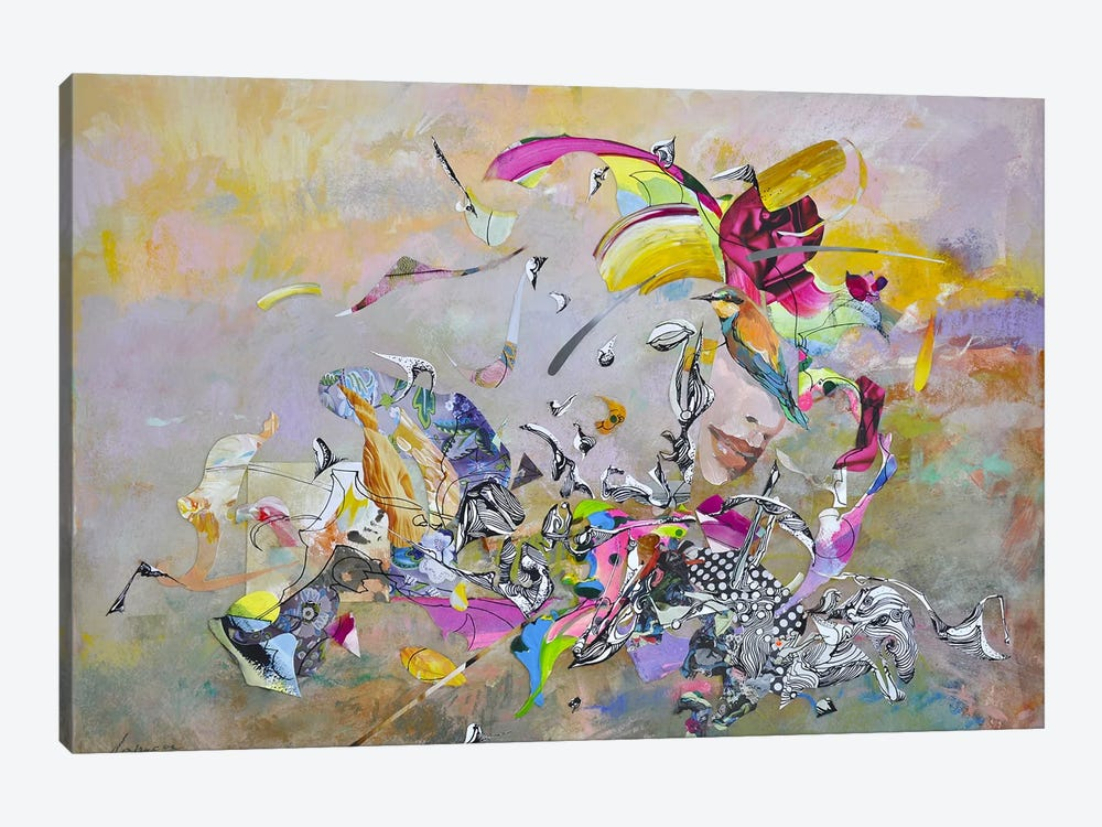 Abstract Afternoon by Larisa Ilieva 1-piece Art Print