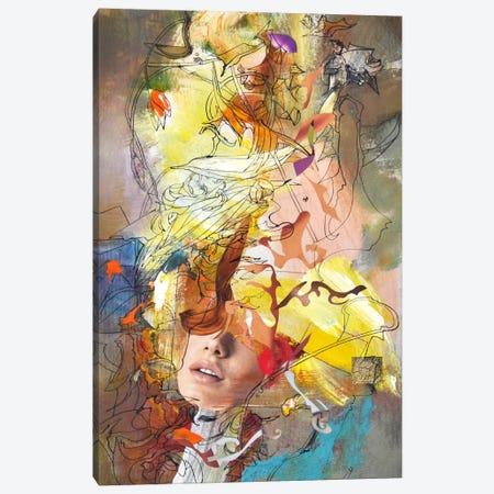 Vertical Desire Canvas Print #LLE96} by Larisa Ilieva Canvas Art Print