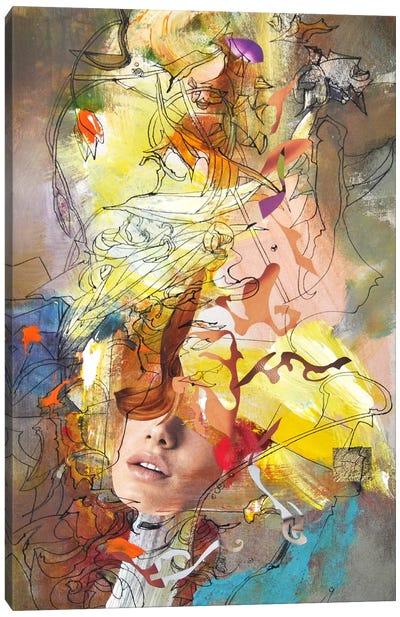 Vertical Desire Canvas Art Print