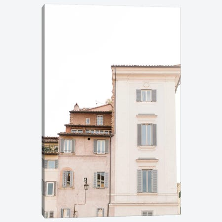Rooftops, Rome, Italy Canvas Print #LLH103} by lovelylittlehomeco Canvas Print