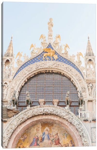 St. Mark's Basilica, Venice, Italy Canvas Art Print