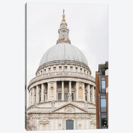 St. Paul's Cathedral, London, England Canvas Print #LLH108} by lovelylittlehomeco Canvas Art Print