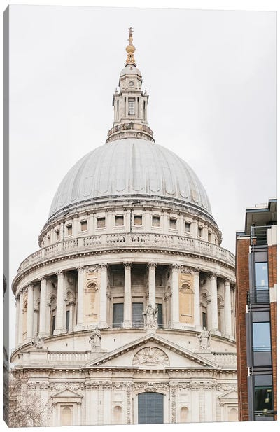 St. Paul's Cathedral, London, England Canvas Art Print