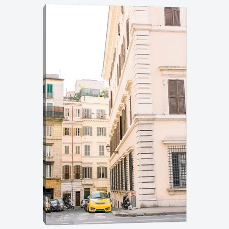 Streets Of Rome, Italy Canvas Print #LLH111} by lovelylittlehomeco Canvas Wall Art