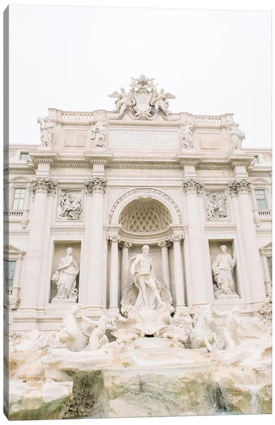 Trevi Fountain Close-Up, Rome, Italy Canvas Art Print