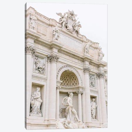 Trevi Fountain II, Rome, Italy Canvas Print #LLH114} by lovelylittlehomeco Art Print