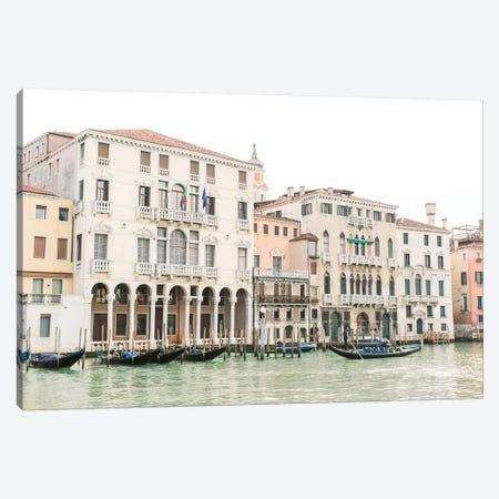 Venice Canal I, Venice, Italy Canvas Print #LLH117} by lovelylittlehomeco Art Print