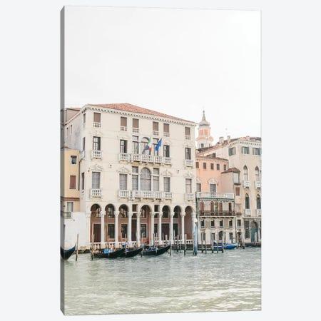 Venice Canal II, Venice, Italy Canvas Print #LLH118} by lovelylittlehomeco Canvas Artwork