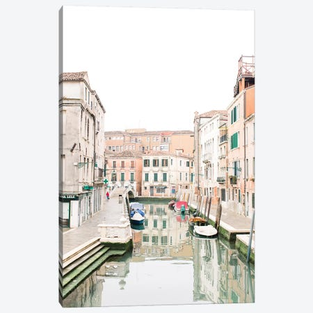 Venice Canal III, Venice, Italy Canvas Print #LLH119} by lovelylittlehomeco Canvas Wall Art