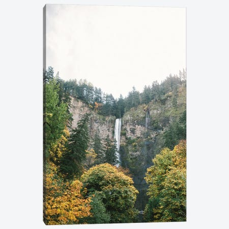 Waterfall I, Portland, Oregon Canvas Print #LLH122} by lovelylittlehomeco Canvas Print