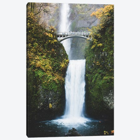 Waterfall II, Portland, Oregon Canvas Print #LLH124} by lovelylittlehomeco Canvas Artwork