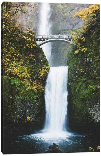 Waterfall II, Portland, Oregon Canvas Art Print