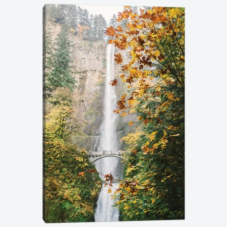 Waterfall III, Portland, Oregon Canvas Print #LLH125} by lovelylittlehomeco Canvas Art