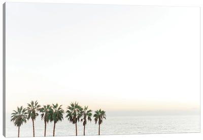 Palm Trees California Beach Print Canvas Art Print