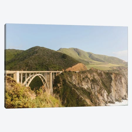 Bixby Bridge, Big Sur, California Canvas Print #LLH12} by lovelylittlehomeco Canvas Print