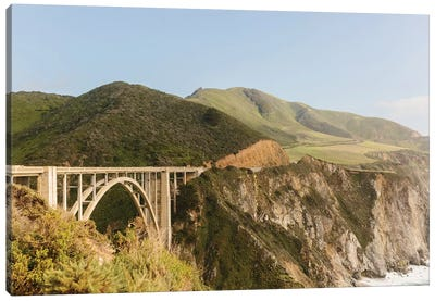 Bixby Bridge, Big Sur, California Canvas Art Print