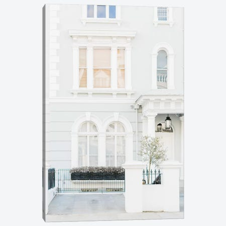 Blue Home, London, England Canvas Print #LLH17} by lovelylittlehomeco Canvas Wall Art