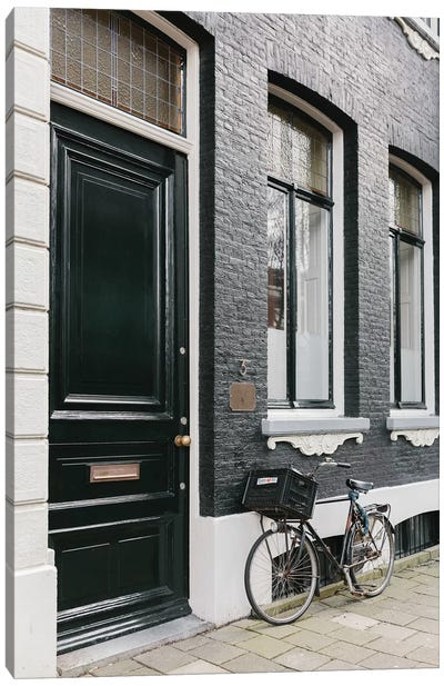Amsterdam Bike Canvas Art Print