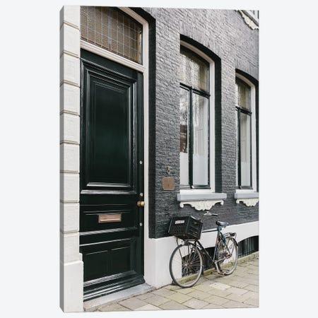 Amsterdam Bike Canvas Print #LLH1} by lovelylittlehomeco Canvas Art Print