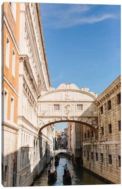 Bridge Of Sighs, Venice, Italy Canvas Art Print
