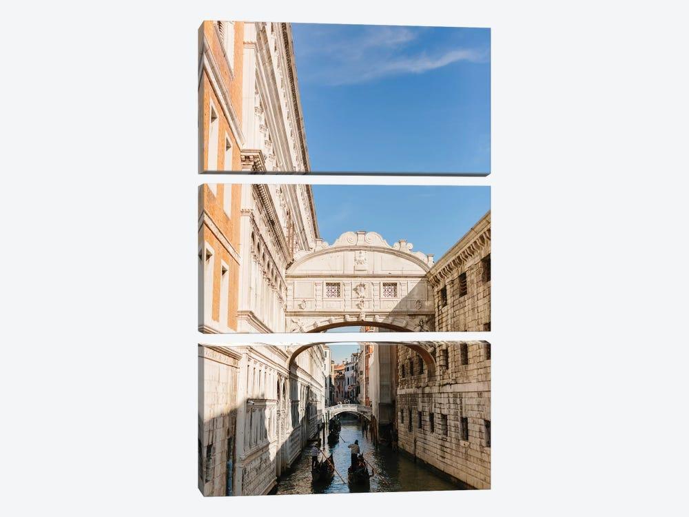 Bridge Of Sighs, Venice, Italy by lovelylittlehomeco 3-piece Canvas Wall Art