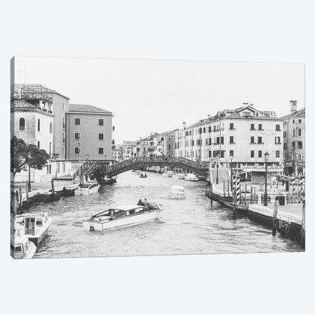 Bridge Over Canal, Venice, Italy Canvas Print #LLH23} by lovelylittlehomeco Canvas Wall Art