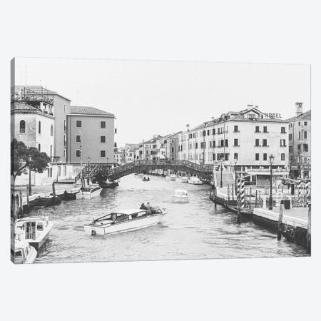 Bridge Over Canal, Venice, Italy 3-Piece Canvas #LLH23} by lovelylittlehomeco Canvas Wall Art