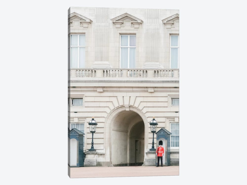 Buckingham Palace, London, England by lovelylittlehomeco 1-piece Canvas Art