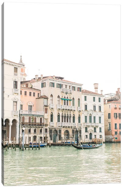 Buildings Along Canal I, Venice, Italy Canvas Art Print