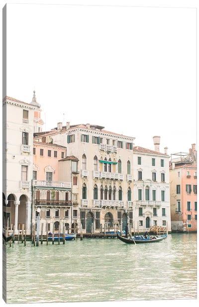 Buildings Along Canal I, Venice, Italy Canvas Art Print
