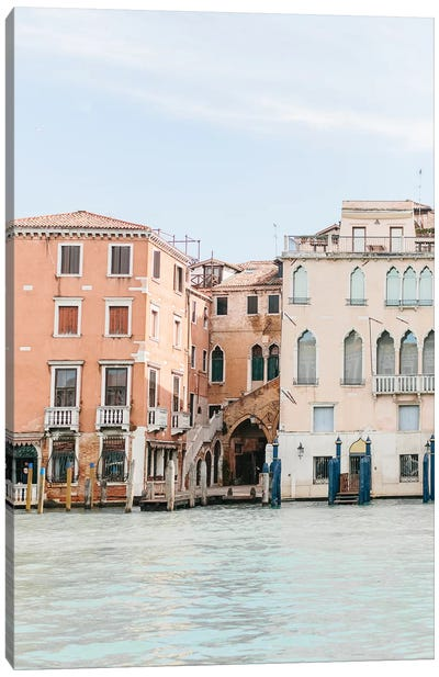 Buildings Along Canal II, Venice, Italy Canvas Art Print