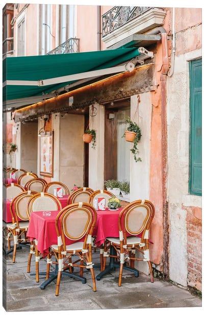 Café, Venice, Italy Canvas Art Print