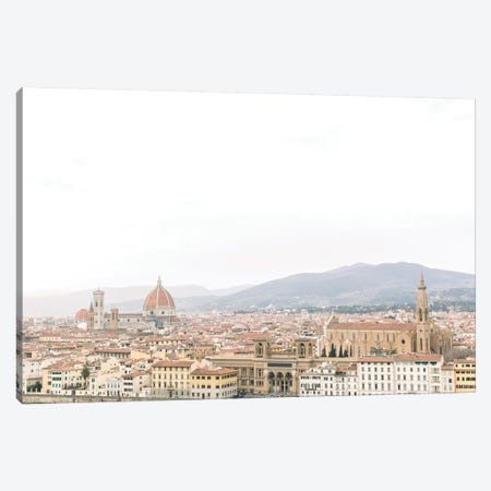 Cityscape I, Florence, Italy Canvas Print #LLH38} by lovelylittlehomeco Canvas Print